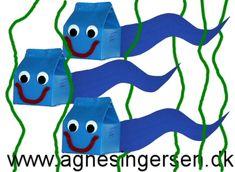 Endnu en haletudseide er svømmet ind på bloggen :) Skabelonen og vejledningen til haletudsen finder du liger her: http://agnesingersen.dk/blog/maelkehaletudser #creepycrawly #tadpole #kriblekrable #haletudse
