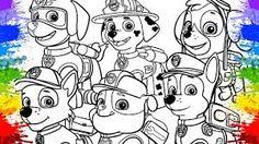 Resultado de imagem para desenhos para colorir da patrulha canina