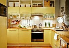 Image detail for -yellow kitchen model