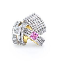 jenna clifford jewellery at DuckDuckGo Diamond Jewelry, Jewelry Rings, Jewlery, Fine Jewelry, Engagement Ring Styles, Wedding Engagement, Jenna Clifford, Fashion Rings, Fashion Jewelry