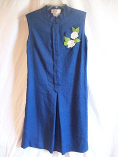 Vintage Blue B Altman and Co Dress by jclairep on Etsy, $35.00