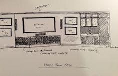 Media room drawing