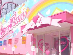 Licca (similar to Barbie) store in Japan