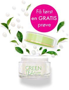 Velbehag er følelsen vi har prøvd å skape med GREEN TEA & pearl.   Med en mild, naturlig duft og behagelig konsistens, er dette en ansiktskrem du vil glede deg til å bruke – hver morgen! Pearl Tea, Glow, Skin Care, Pearls, Consistency, Green, Create, Natural, Makeup