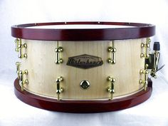 A rather sexy looking piece from Disturbance Custom Drums in Australia.