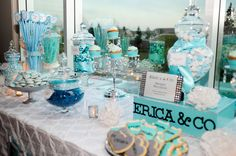 """Tiffany Blue Sweet Sixteen Decorations 