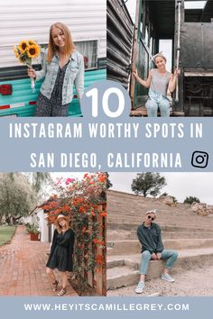 10 Instagram Worthy Spots in San Diego, California. | Hey It's Camille Grey #instagram #sandiego #california #photo #inspiration