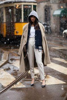 Street Style: Milan Fashion Week Fall 2013