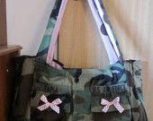 camo purse/diaper bag