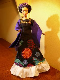 Barbie as Frida Kahlo
