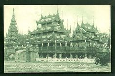 Mandalay-Queen-s-golden-Buddhist-Monastery-Burma-c-1910