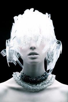 Don't Call Me A Fork Head Cuz I Got Forks On My Head. Plastic Fashion//Tomaas
