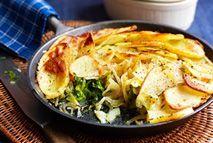 Welsh onion cake – Recipes – Slimming World Welsh Recipes, Scottish Recipes, Gf Recipes, Wrap Recipes, Healthy Eating Recipes, Veggie Recipes, Vegetarian Recipes, Cooking Recipes, Cake Recipes