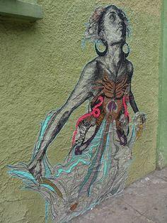Graffiti in Oaxaca, Mexico. Art | artes