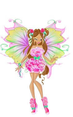Flora Medieval Fairy by WinxClubRus on DeviantArt Winx Club, Cartoon Cartoon, Dessin Animé Lolirock, Winx Magic, Las Winx, Flora Winx, Muse Art, Fairy Art, Club Outfits