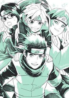 konohamaru`s team