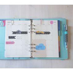 cafe et papier - blog: moving in (& adjusting to) my A5 Kikki.K planner