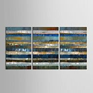 Hand-Painted+Abstract+Three+Panels+Canvas+Oil+Painting+For+Home+Decoration+–+GBP+£+129.91