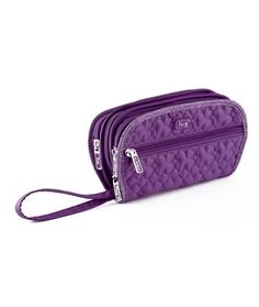 Lug Flipper Jewelry Clutch  - Toiletry and  Cosmetic Bags