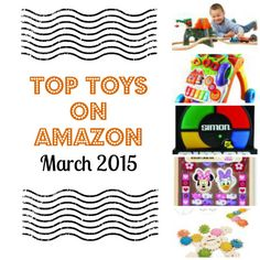 Top Toys on Amazon March 2015