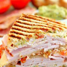 Sandwiches For Lunch, Turkey Sandwiches, Delicious Sandwiches, Soup And Sandwich, Panini Sandwiches, Vegetarian Sandwiches, Bagels Sandwich, Grilled Sandwich, Bacon Sandwich