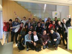 Visita de los emprendedores de Yuzz Alicante a PBC COWORKING! #yuzzcoworking