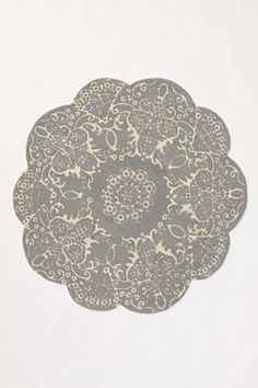 Doily Rug, Anthropologie