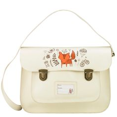 woodland satchel at Paperchase