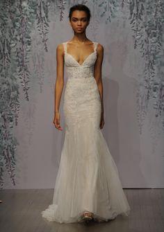 Monique Lhuillier's Fall 2016 Wedding Dress Collection Channels a Romantic Garden   TheKnot.com