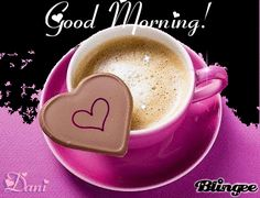 Good Morning Images with Effects Good Morning Coffee Gif, Cute Good Morning Images, Good Morning Good Night, Good Morning Quotes, Coffee Heart, My Coffee, Coffee Time, Coffee Break, Evening Greetings