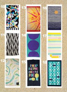 Towel Round Up Summer 2014 - Happy Mundane | Jonathan Lo