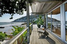 Modern Beach House with WiFi, Satellite TV and Amazing Views - Villa WixyVacation Rental in Clifton Beach from Beautiful Villas, Beautiful Homes, Cape Town Accommodation, Clifton Beach, Belle Villa, Luxury Holidays, Great View, Coastal Living, Outdoor Spaces