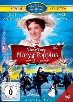 Mary Poppins - Zum 45. Jubiläum Special Collection 2 DVDs: Amazon.de: Dame Julie Andrews, Dick Dyke, Glynis Johns, David Tomlinson, Reginald...