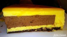 Ahora cocina: Pastel mousse de yema y chocolate - Drip cake