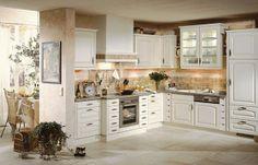 Küchen landhausstil l form  L-Küche Landhausstil | Küche | Pinterest | Küchen landhausstil ...
