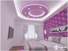 Make your bedroom stand out with Gyproc ceilings! To know more: www.gyproc.in/