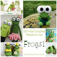 Monday Link Blast: 10 Free Crochet Patterns for Frogs – Make It Crochet