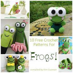 Monday Link Blast: 10 Free Crochet Patterns for Frogs – Make It Crochet