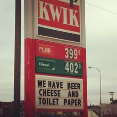 This gas station with all the essentials: | The 23 Most Midwestern Things To Ever Happen