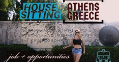 fancy living in athens and greece for free? Athens Guide, House Sitting, Athens Greece, Animal House, The Past, Around The Worlds, Fancy, Vegan, Free