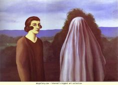 Ren� Magritte. L'Invention de la vie. Olga's Gallery.✖️More Pins Like This One At FOSTERGINGER @ Pinterest✖️