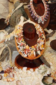 Beautiful shell & pearl jewelry.