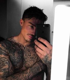 Wings Tattoo Ideas And Their Meanings Gay Tattoo, Leg Tattoo Men, Hot Tattoos, Tattoos For Guys, Johnny Edlind, Bad Boy, Just Beautiful Men, Inked Men, Guy Pictures