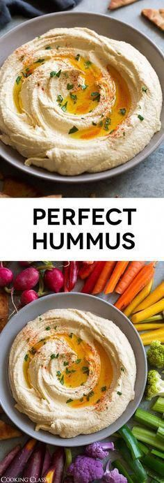 BEST Hummus - This is how you make the perfect light and fluffy hummus every time! Simple ingredients, super easy method and perfectly delicious end results every time. hummus recipe appetizer healthyrecipe snack via 409335053628870081 Vegetarian Recipes, Cooking Recipes, Healthy Recipes, Vegetable Recipes, Vegetarian Dinners, Easy Hummus Recipe, Hummis Recipe, Lebanese Hummus Recipe, Hummus Recipe Vitamix