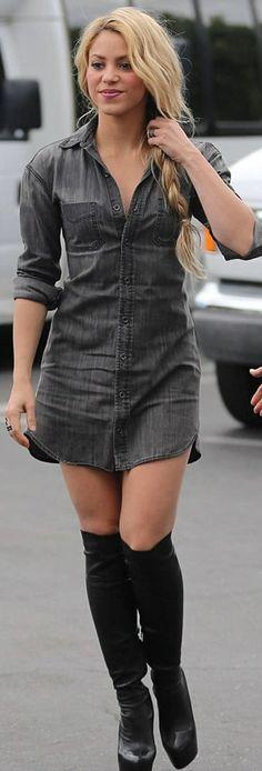 #Shakira #celebritystyle #celebrity