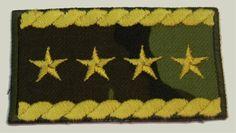 Výsledek obrázku pro hodnost armádního generála