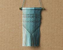 MINI Macrame Car Accessory with Ombre Effect - Wall Hanging (rearview mirror hanging)