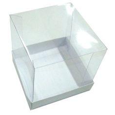 Caixa 8,5 X 8,5 X 8,5  para Mini-bolo - 10 unid.