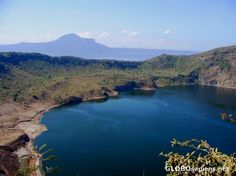 Taal Volcano crater -Tagaytay, Philippines. This place is amazing! You have to be there to appreciate its beauty!
