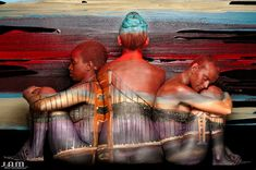 body painting art - trina merry